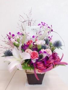 1周年お花(パナメディカル)
